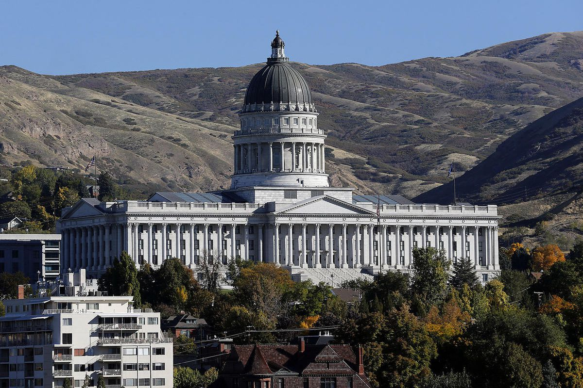 """FILE """""""" The Capitol in Salt Lake City, Monday, Oct. 13, 2014."""