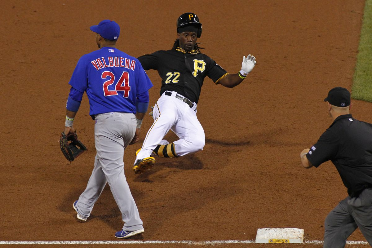 Let's have McCutchen drive in a couple more runs this series.  Why not?