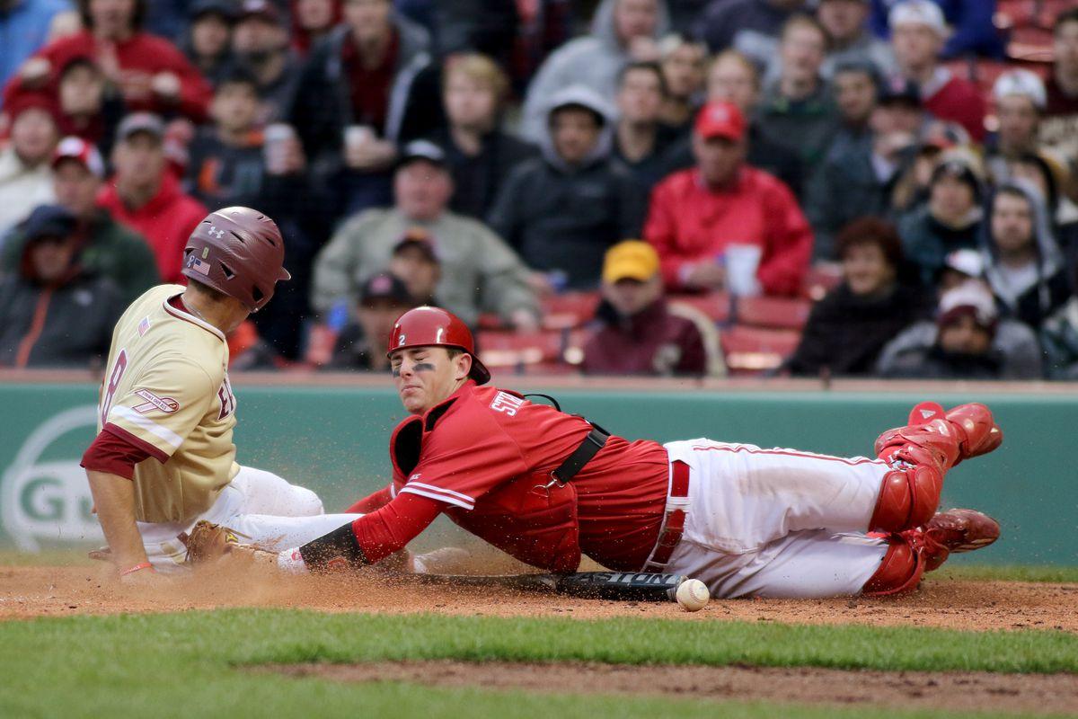 COLLEGE BASEBALL: APR 22 NC State at Boston College
