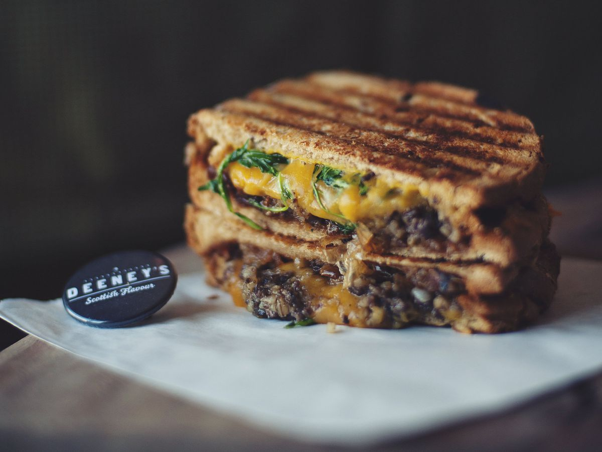 Best cheese toasties London: Hamish Macbeth