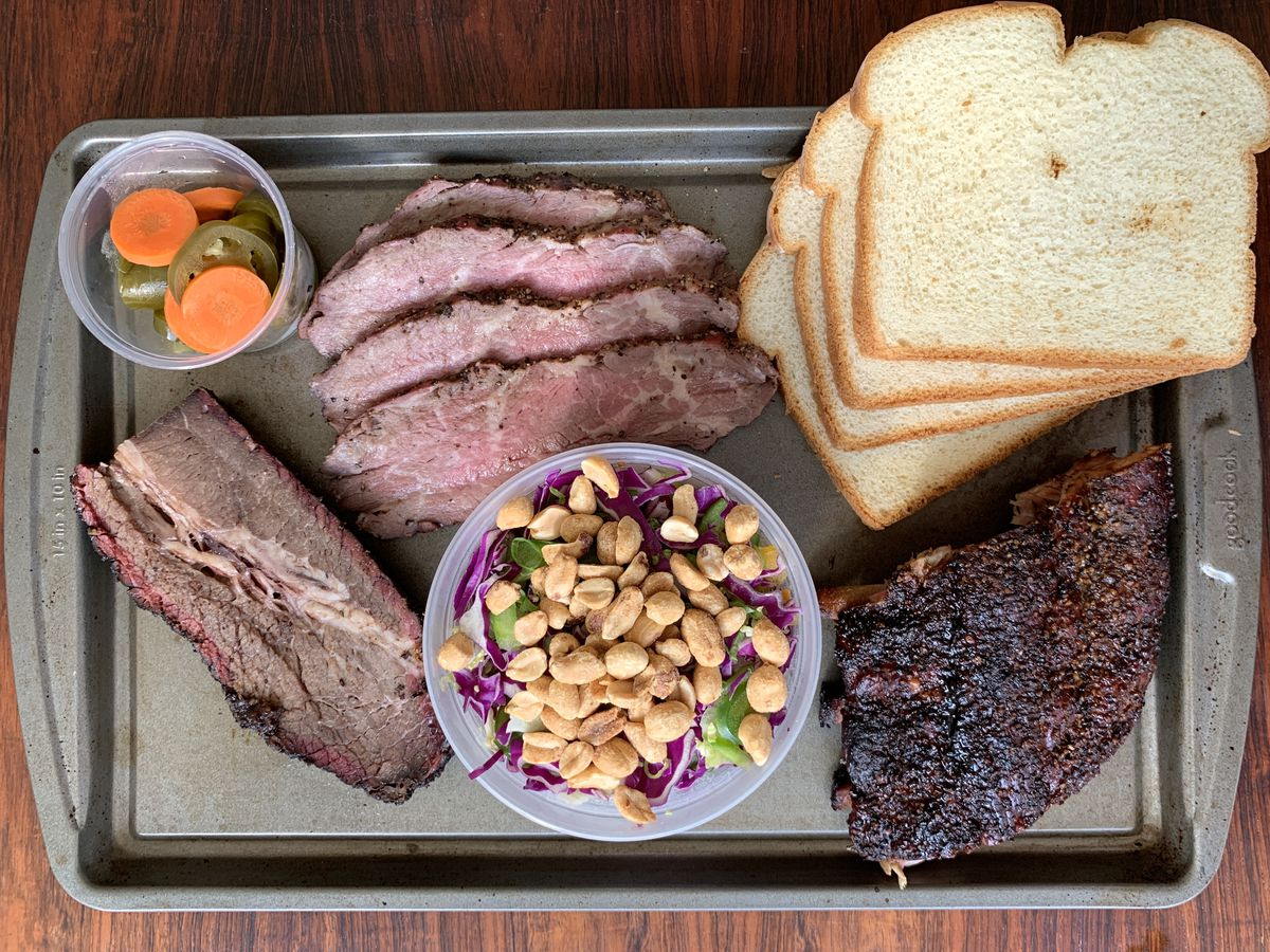 Barbecue from Cuckoos Nest BBQ in Calabasas.