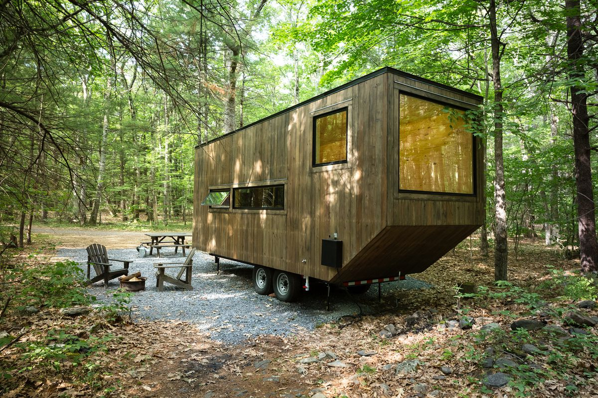 staten island will get three tiny houses to rent this summer courtesy getaway curbed ny. Black Bedroom Furniture Sets. Home Design Ideas