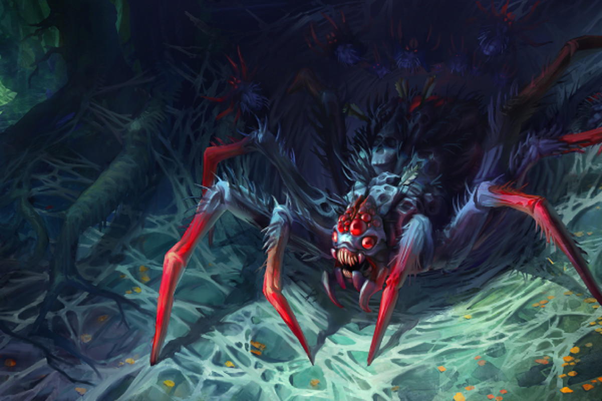 Feast Of The Gluttons Larder Loading Screen For The Set For Broodmother Tinek For Dota