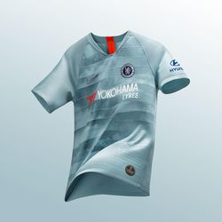 debb029eff4 Chelsea launch rather unique 2018-19 third kit, featuring the latest ...