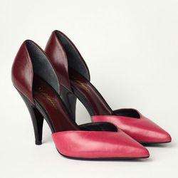 "<b>3.1 Phillip Lim</b> Ava D'Orsay Pump in fucshia/prune, <a href=""http://www.31philliplim.com/shop/category/womens_accessories/shoes#ava-dorsay-1"">$450</a>"