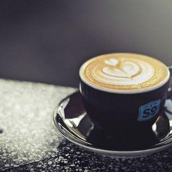 Cappuccino by Barista Alex Guzman at Single Origin Coffee, Los Angeles, by R.E. ~