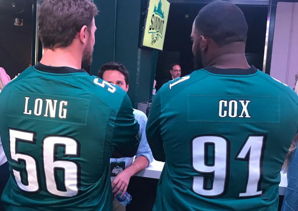 "buy online a48e2 7c0d6 Fletcher Cox: ""You gotta love Long Cox, right?"" - Bleeding ..."
