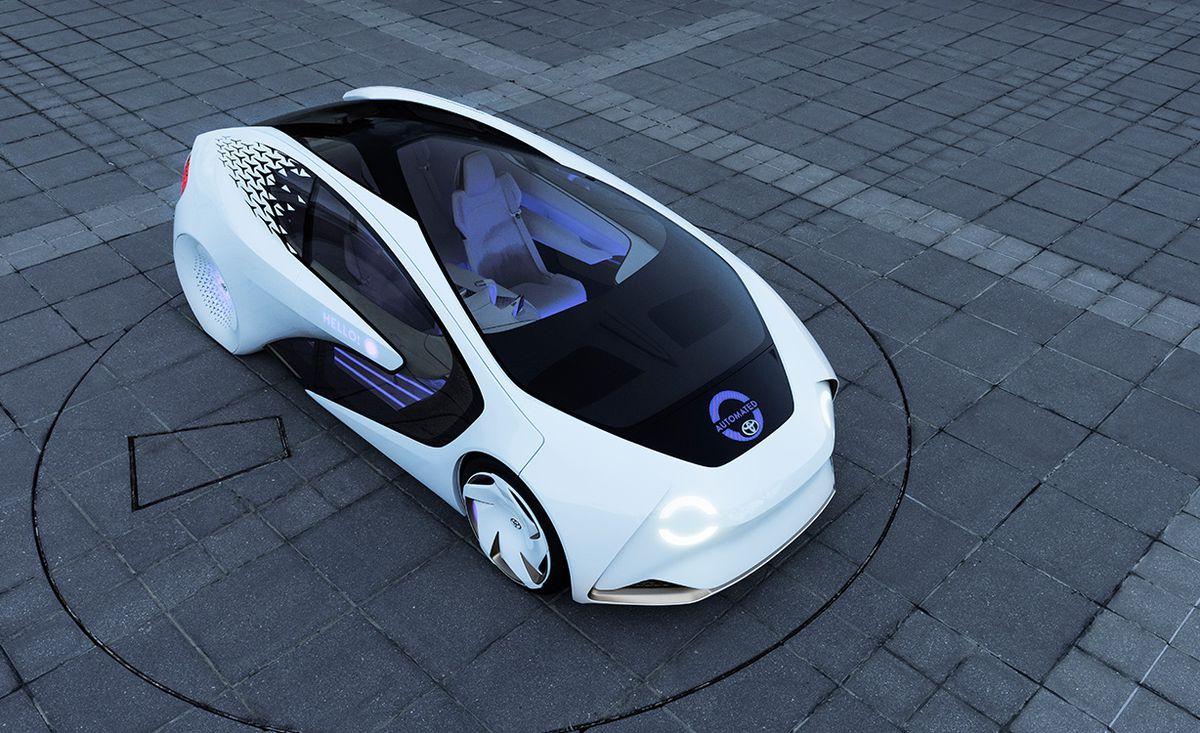 Toyota's Concept-i concept car