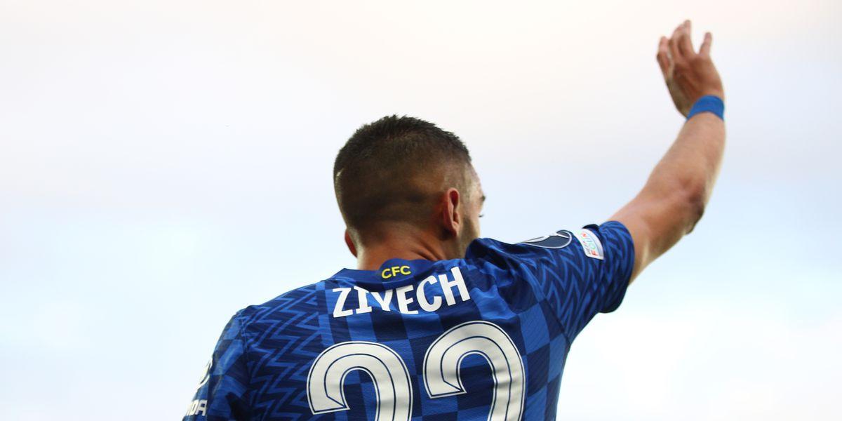 Watch: Ziyech tap-in opens the scoring for Chelsea against Villarreal