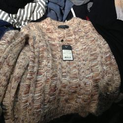 Collection sweater, $150