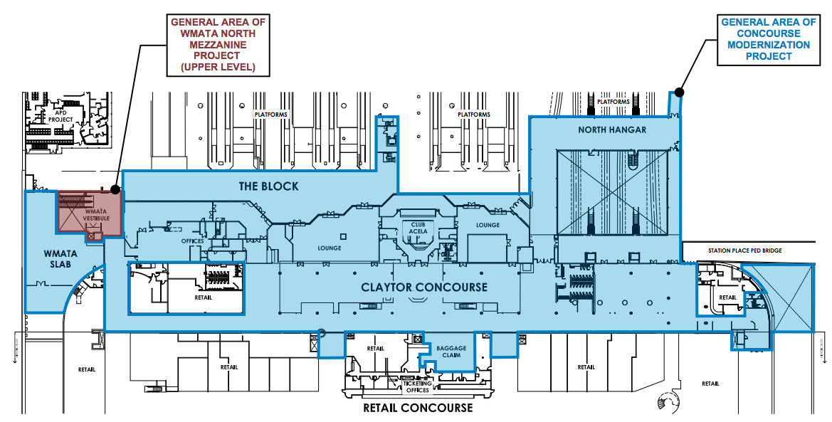 D C Union Station S Amtrak Concourse To Receive Passenger Focused Work Curbed Dc