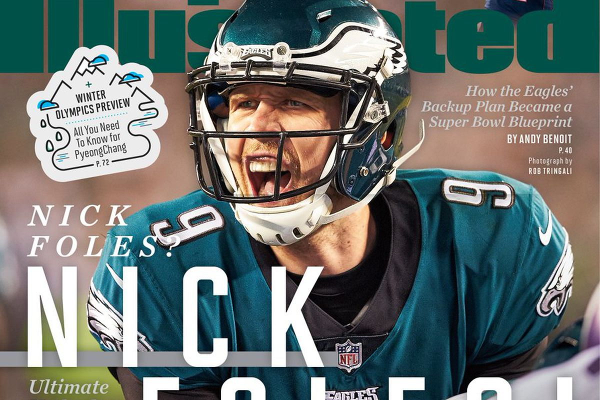 quality design 9e45a 77df9 Super Bowl 2018: Nick Foles is on the Sports Illustrated ...