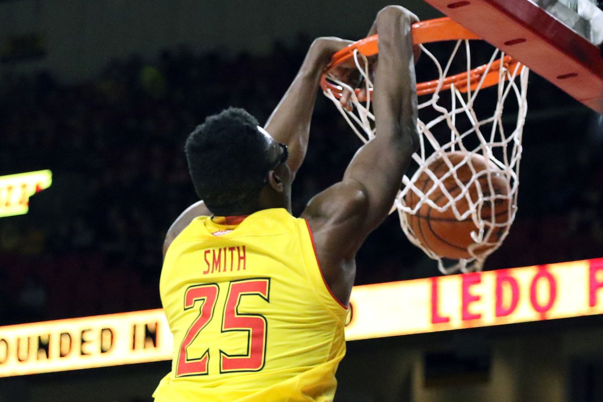 Maryland basketball Jalen Smith vs. Minnesota