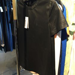 Tissue leather tee shirt, $168 (was $1,250)