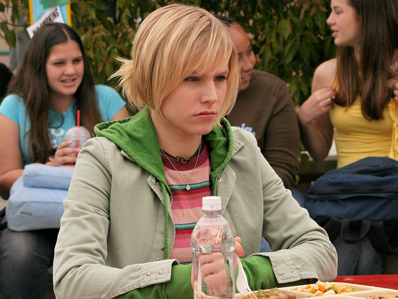 Kristen Bell as Veronica Mars in 2004