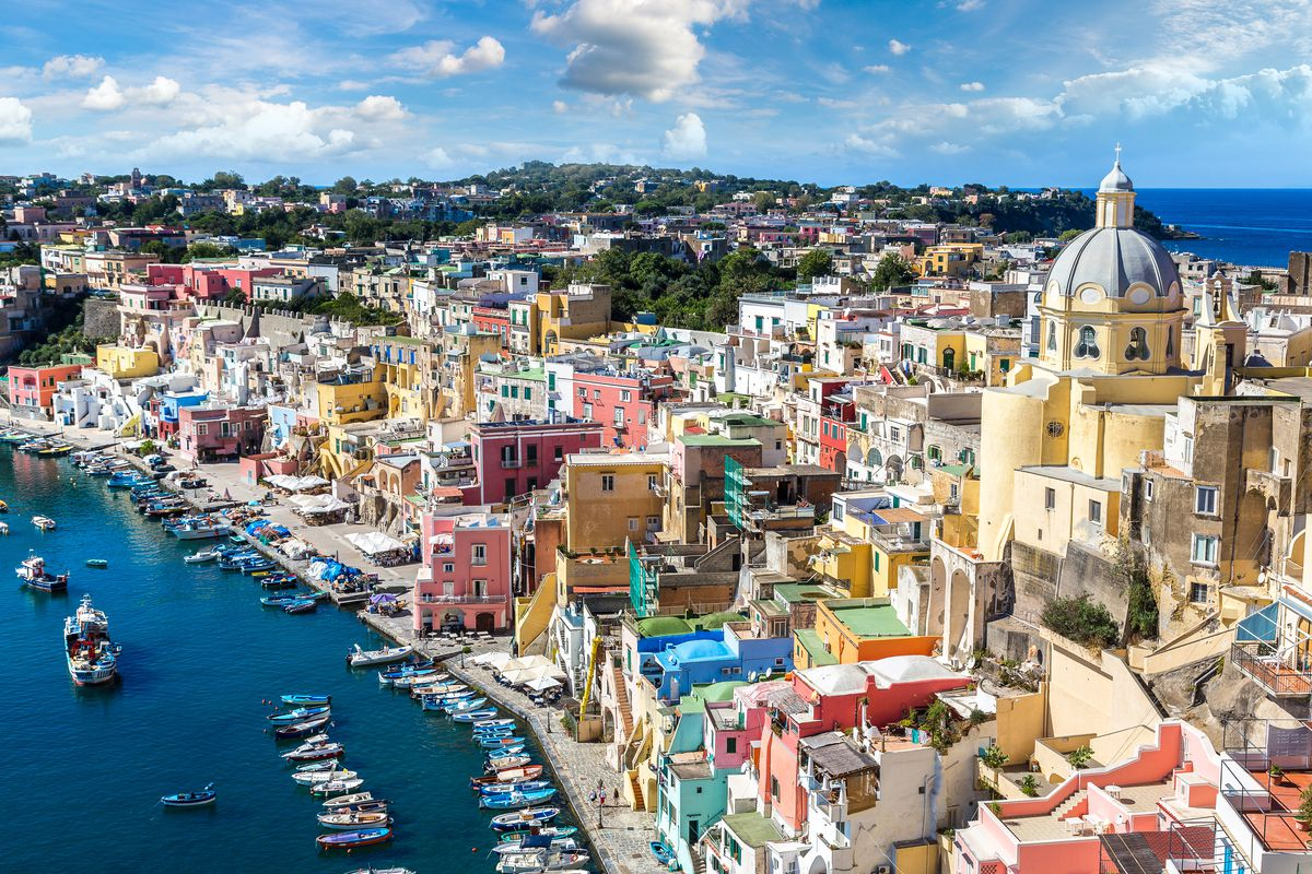 The Colorful Seaside Town Of Procida Italy Shutterstock