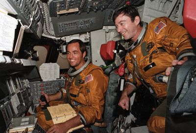 Astronauts in Spacecraft