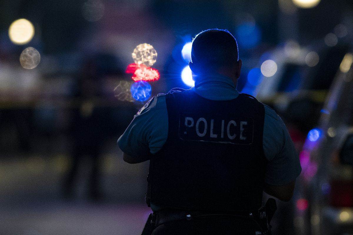 Armed carjackers held up an off-duty Chicago police officer Aug. 21, 2020, near 25th Street and King Drive in Bronzeville.