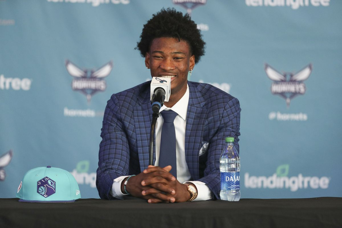 Charlotte Hornets Introduce Draft Picks - Presser