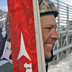 Todd Lodwick, the USOC's Sportsman of the Year, is headed to his fifth Olympics. His sport combines ski jumping and cross country racing.