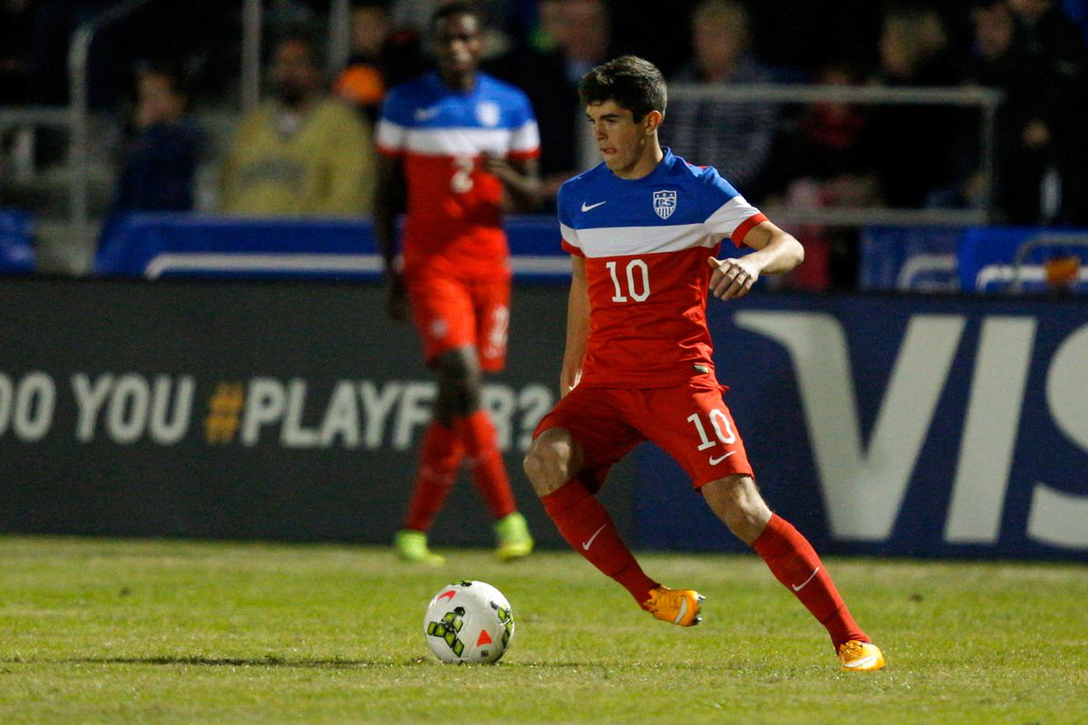 Playing for USMNT