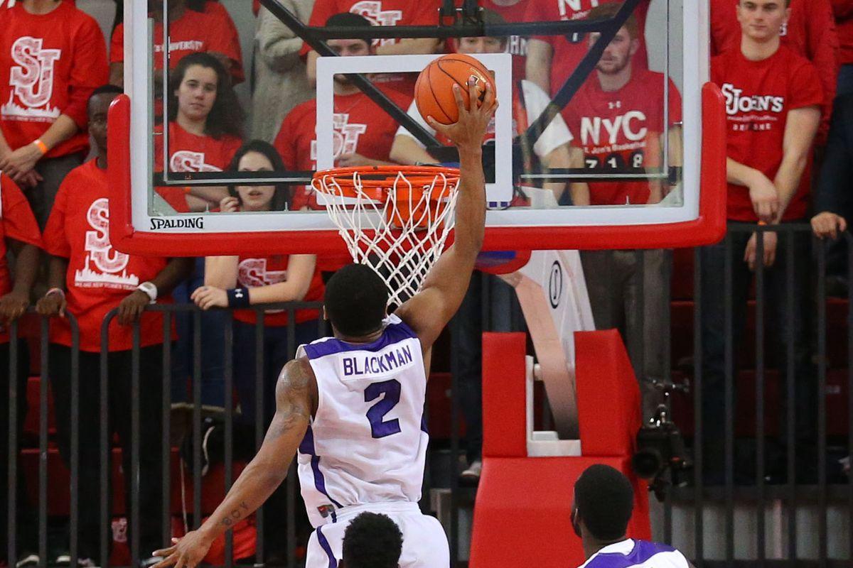 NCAA Basketball: Niagara at St. John