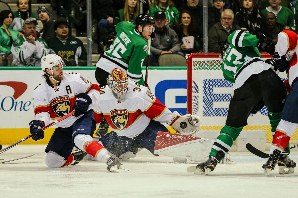 NHL: DEC 31 Panthers at Stars