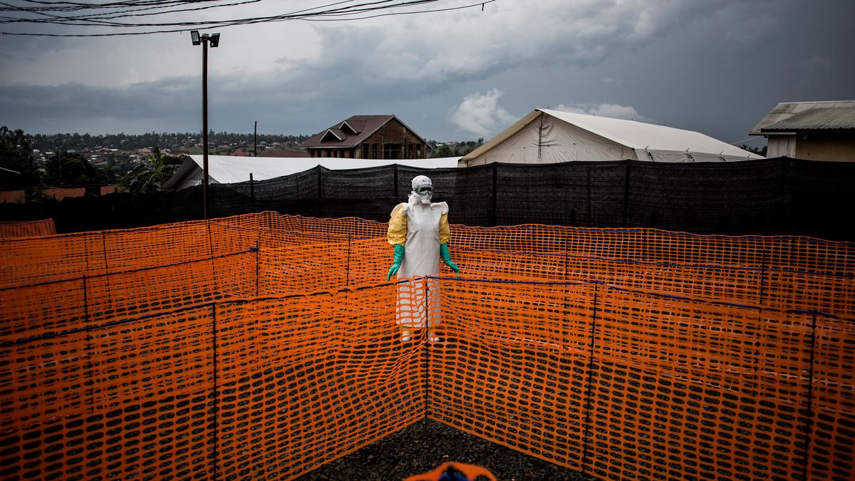 The Ebola outbreak in DRC is now the second largest in