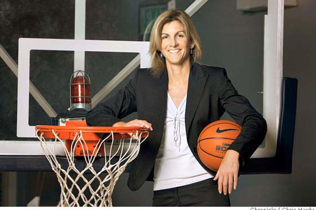 New Virginia women's basketball head coach Joanne Boyle // Chronicle photo by Chris Hardy