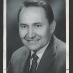 L. Tom Perry as president of the Boston Stake in 1972.