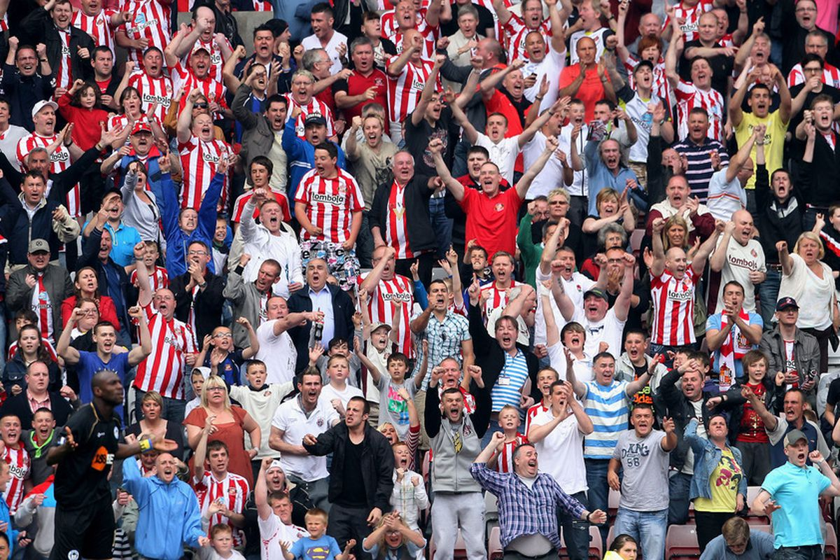 It's all about creating a noise and starting a revolution as fans flock to the new South Stand.
