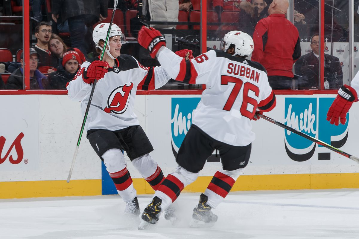 Jack Hughes Heroic in New Jersey Devils OT Win over Ottawa Senators - All  About The Jersey