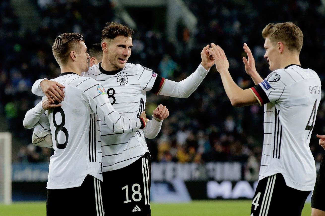 Match awards for Germany?s 4-0 victory over Belarus