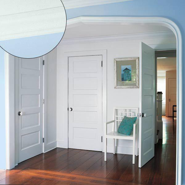 Contrasting Casings in Arch in Bedroom