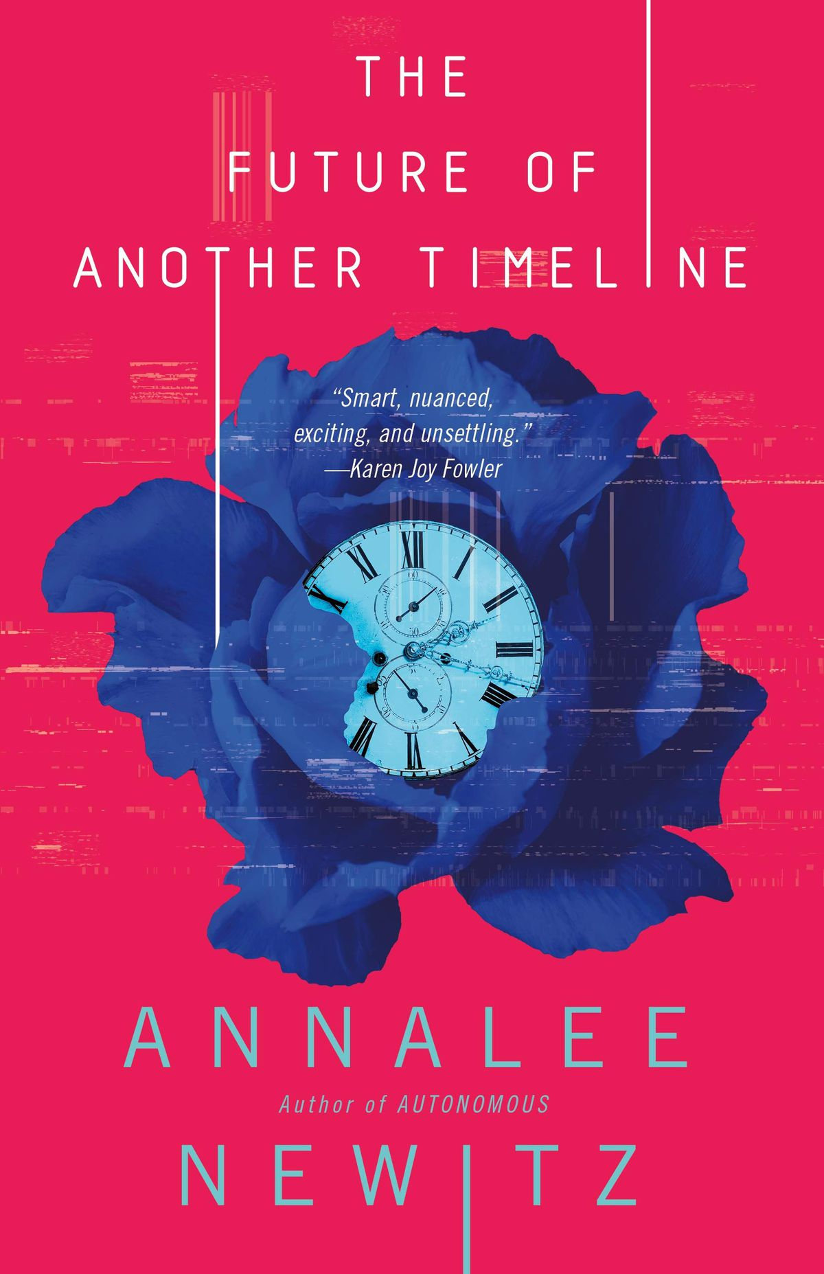 """Cover of """"The Future of Another Timeline"""" by Annalee Newitz"""