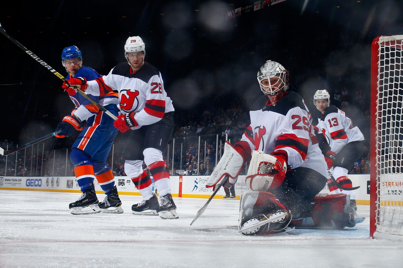 New York Islanders vs. New Jersey Devils [Game 39 Thread]