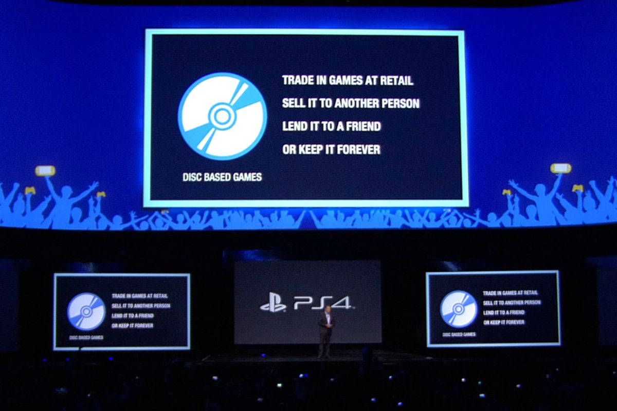 PlayStation 4 will have no used game restrictions or online