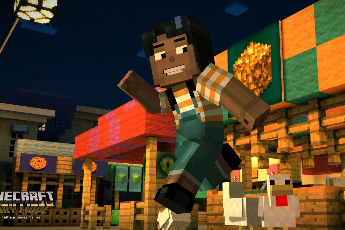 Minecraft: Story Mode character screenshots