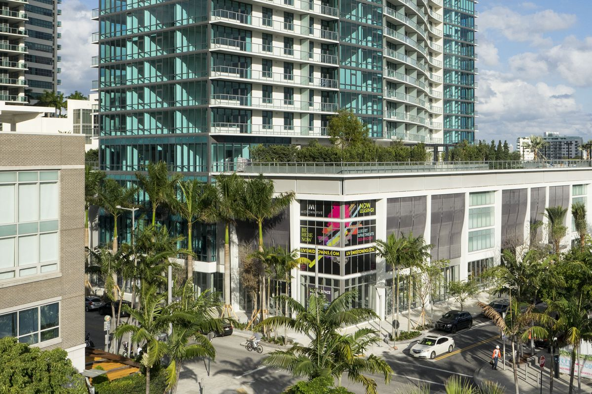 a new condo in midtown miami with ground floor retail