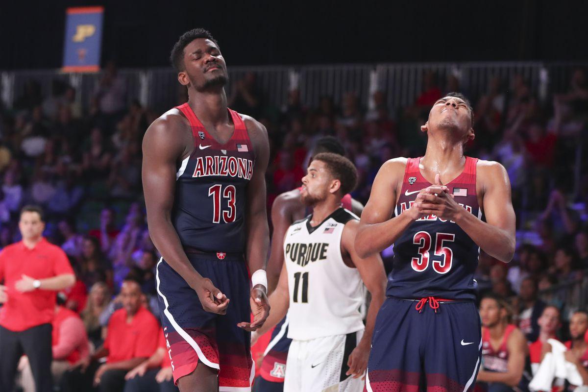 NCAA Basketball: Battle 4 Atlantis-Arizona vs Purdue