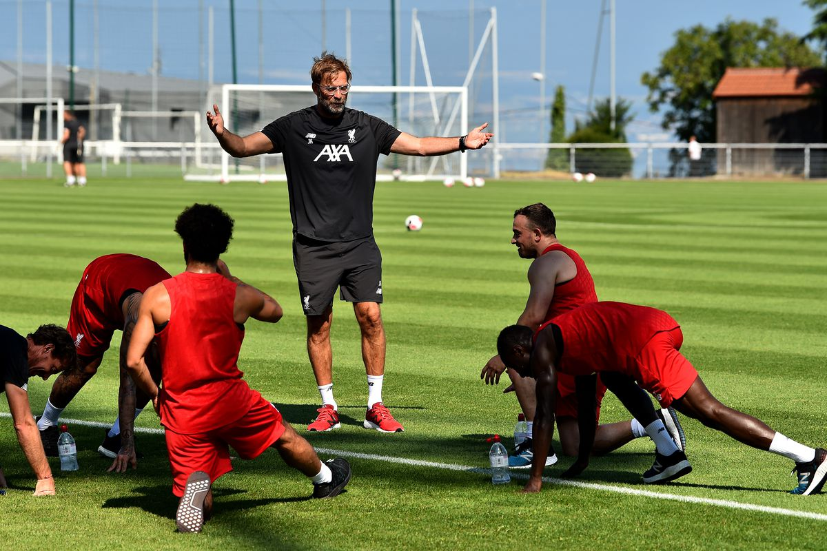 Liverpool Pre-Season Training Camp