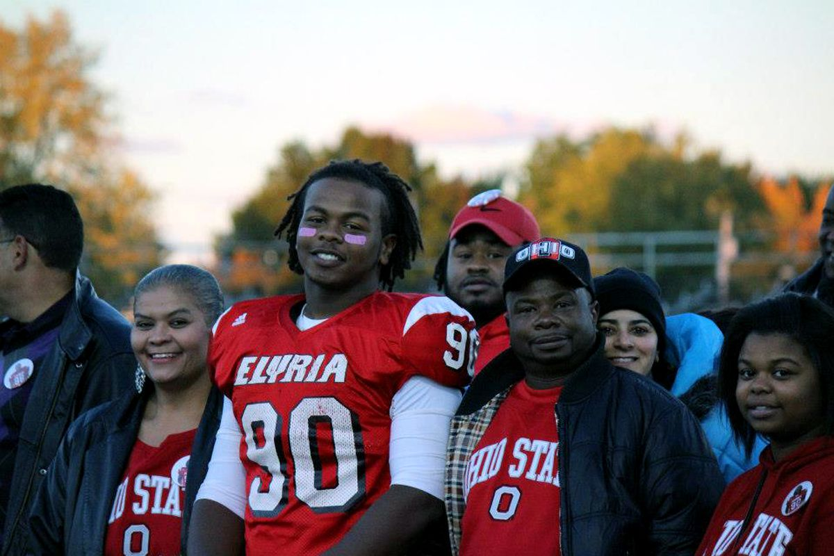 Tracy Sprinkle's future with Ohio State is as bright as his smile.