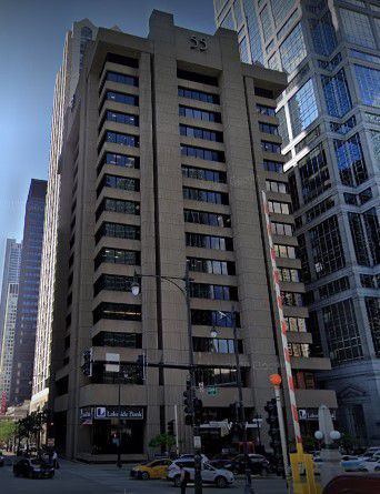 The building at 55 W. Wacker Drive.