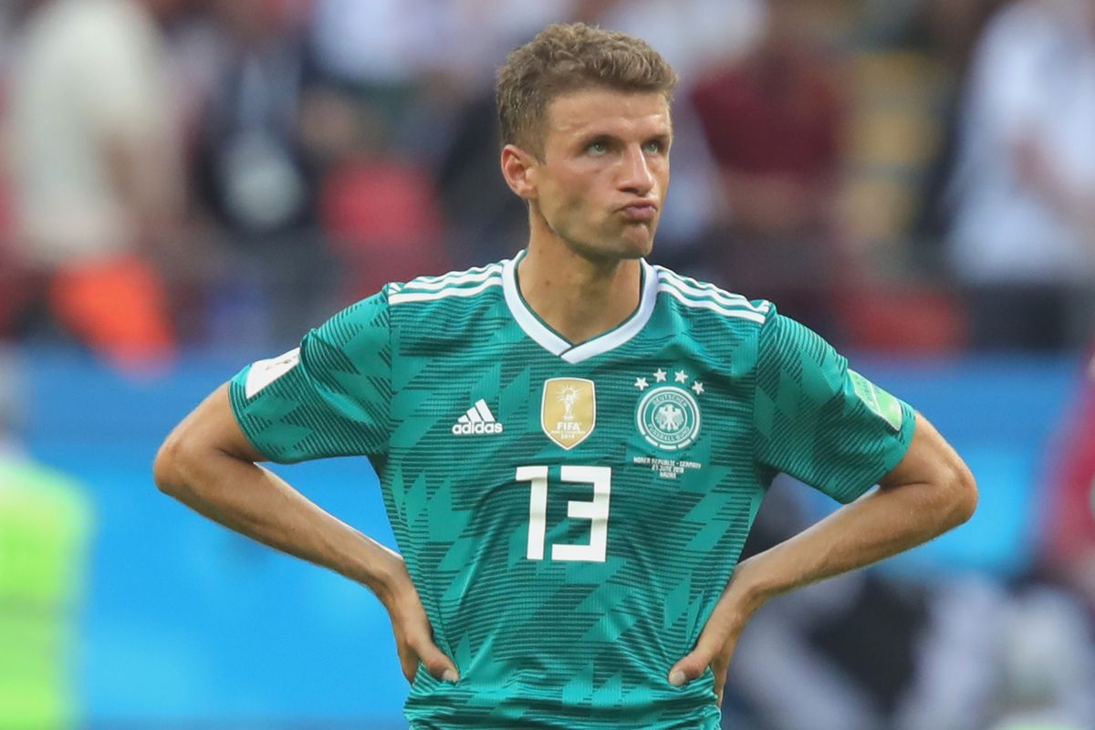 outlet store f6d26 c1cf8 Thomas Müller ready for new season after World Cup disaster ...