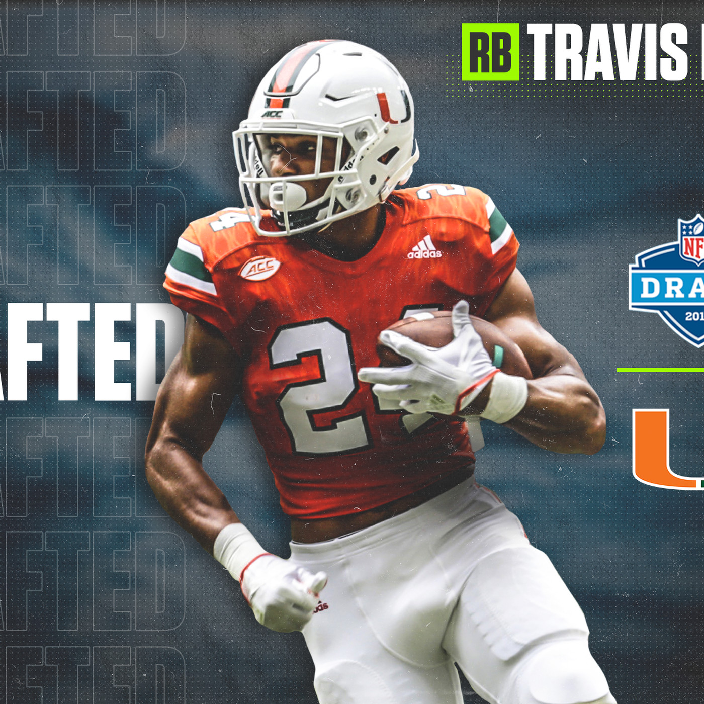 Miami Hurricanes Rb Travis Homer Gets Drafted By Seattle In