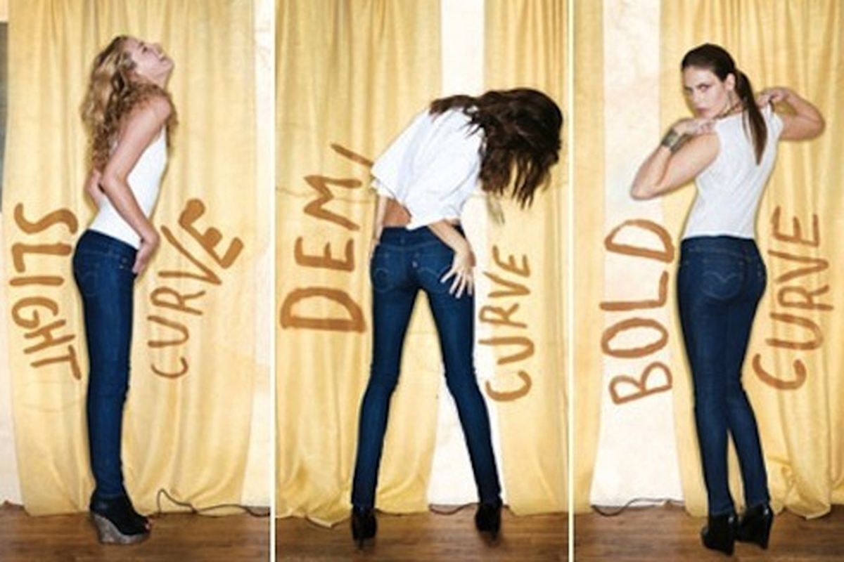 """Now you can easily fit all that ass inside them jeans. Image via <a href=""""http://www.luckymag.com/blogs/luckyrightnow/2010/08/jeans-every-butt-can-fit-into-.html"""">Lucky Right Now</a>."""