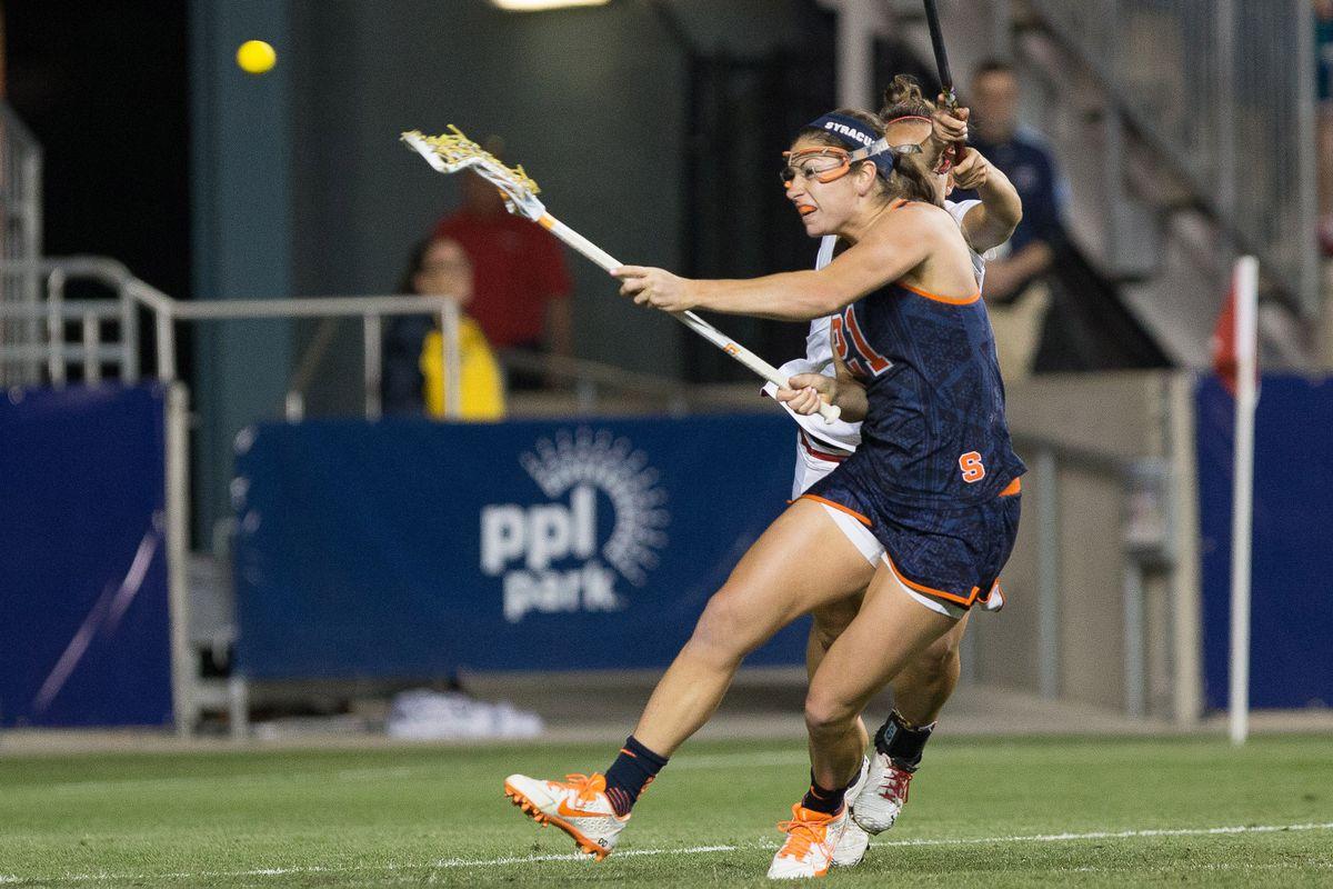 NCAA Lacrosse: Women's Semifinal - Syracuse Orange vs. Maryland Terrapins