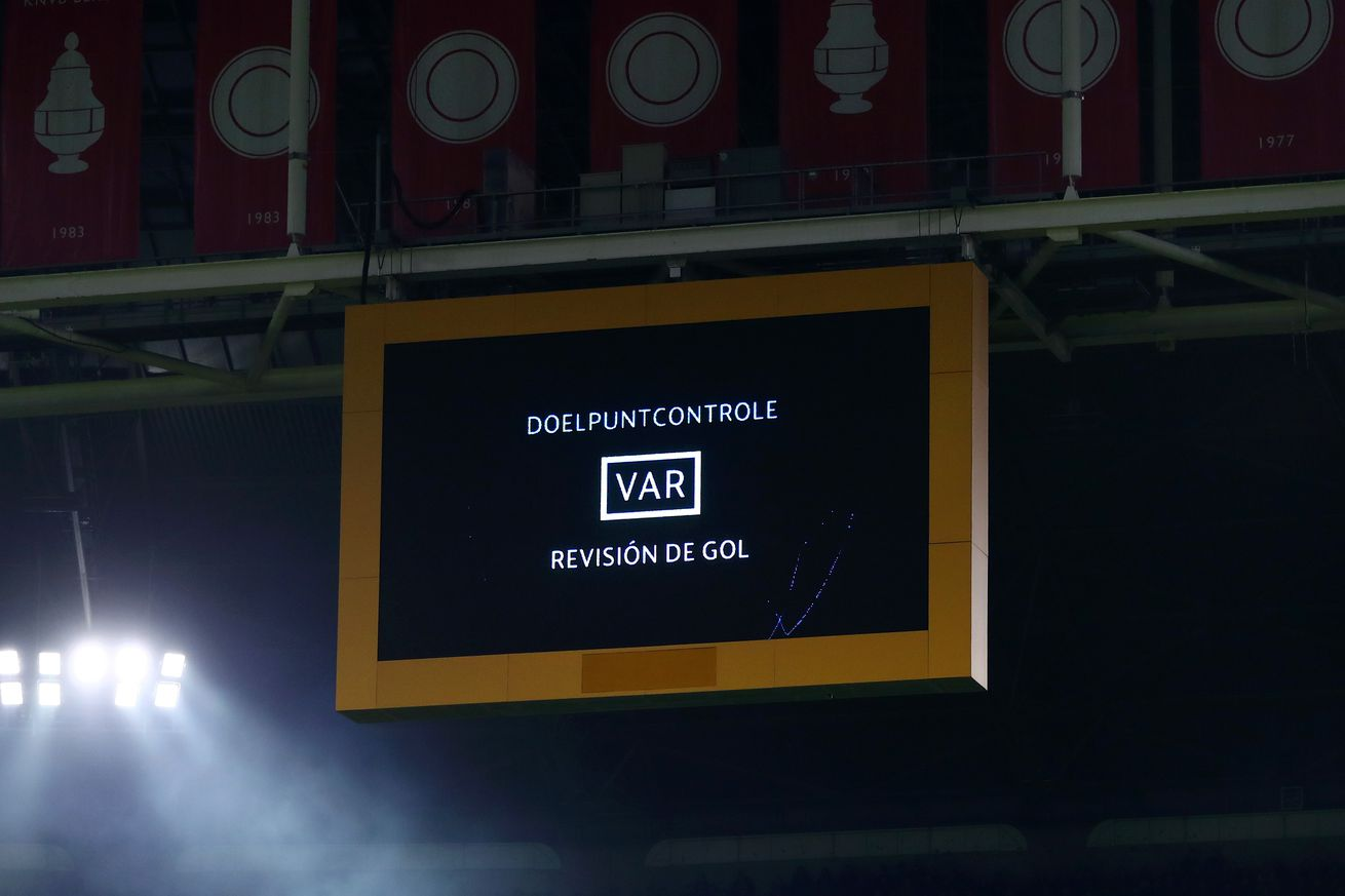 UEFA explain why disallowing Ajax?s first goal against Real Madrid was the right call