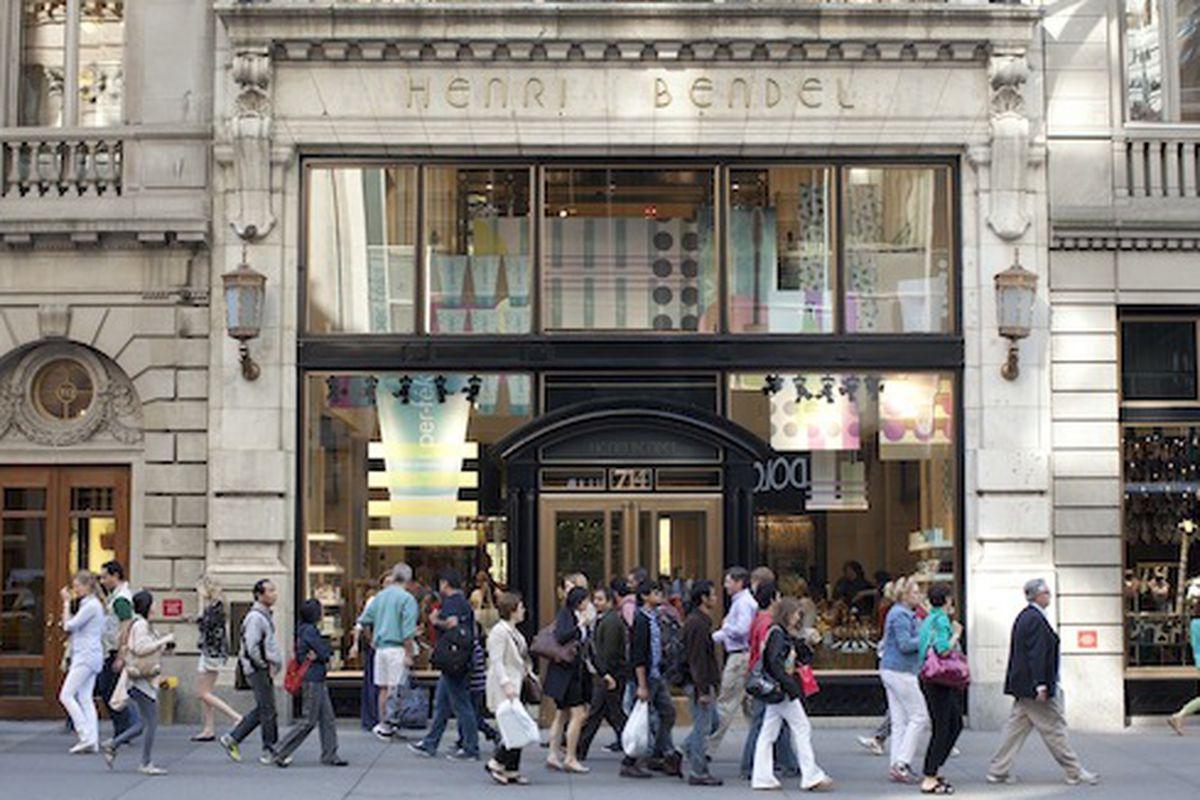 Henri Bendel on Fifth Avenue; Photo by Brian Harkin