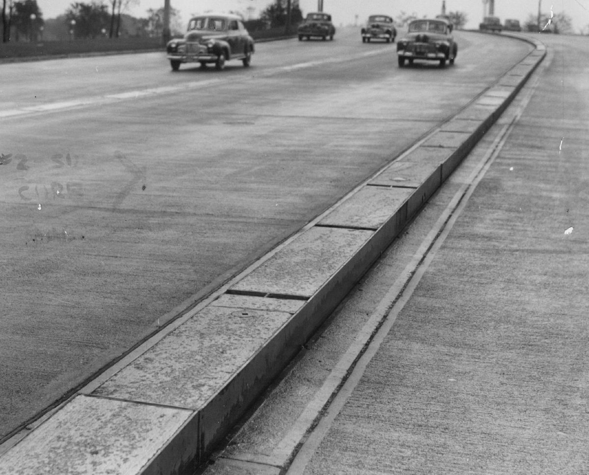 Lake Shore Drive in 1941.   Sun-Times Library